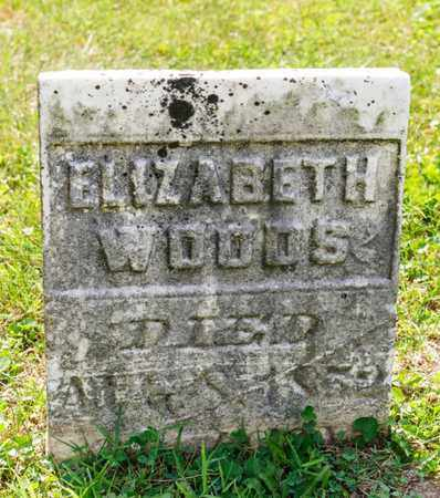 WOODS, ELIZABETH - Richland County, Ohio | ELIZABETH WOODS - Ohio Gravestone Photos