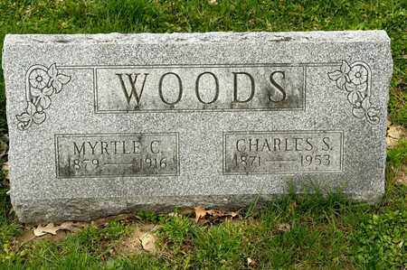 WOODS, MYRTLE C - Richland County, Ohio | MYRTLE C WOODS - Ohio Gravestone Photos
