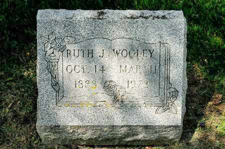 WOOLEY, RUTH J - Richland County, Ohio | RUTH J WOOLEY - Ohio Gravestone Photos
