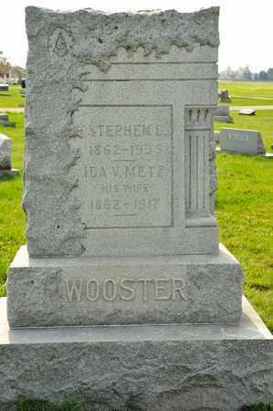 METZ WOOSTER, IDA V - Richland County, Ohio | IDA V METZ WOOSTER - Ohio Gravestone Photos