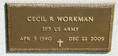 WORKMAN, CECIL R - Richland County, Ohio | CECIL R WORKMAN - Ohio Gravestone Photos