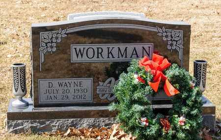 WORKMAN, D WAYNE - Richland County, Ohio | D WAYNE WORKMAN - Ohio Gravestone Photos