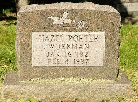 PORTER WORKMAN, HAZEL - Richland County, Ohio | HAZEL PORTER WORKMAN - Ohio Gravestone Photos