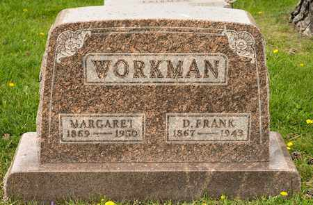 WORKMAN, D FRANK - Richland County, Ohio | D FRANK WORKMAN - Ohio Gravestone Photos