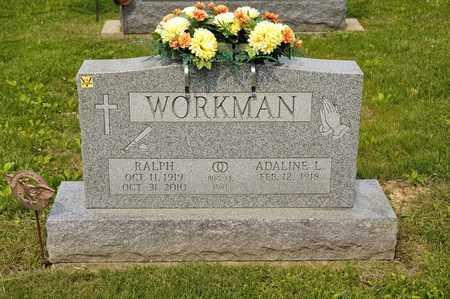 WORKMAN, RALPH - Richland County, Ohio | RALPH WORKMAN - Ohio Gravestone Photos
