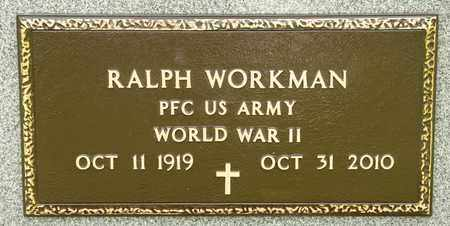 WORKMAN, RALPH - Richland County, Ohio | RALPH WORKMAN - Ohio Gravestone Photos