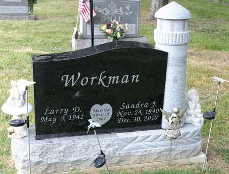 WORKMAN, SANDRA J - Richland County, Ohio | SANDRA J WORKMAN - Ohio Gravestone Photos