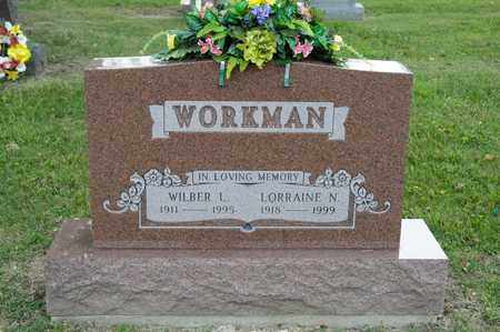 WORKMAN, WILBER L - Richland County, Ohio | WILBER L WORKMAN - Ohio Gravestone Photos