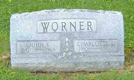 WORNER, CHARLOTTE L. - Richland County, Ohio | CHARLOTTE L. WORNER - Ohio Gravestone Photos