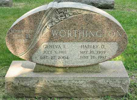 WORTHINGTON, GENEVA I - Richland County, Ohio | GENEVA I WORTHINGTON - Ohio Gravestone Photos