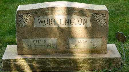 WORTHINGTON, OTIS R - Richland County, Ohio | OTIS R WORTHINGTON - Ohio Gravestone Photos