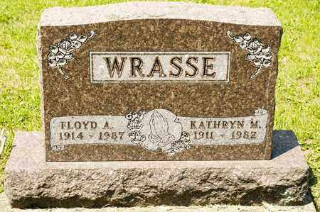 WRASSE, FLOYD A - Richland County, Ohio | FLOYD A WRASSE - Ohio Gravestone Photos