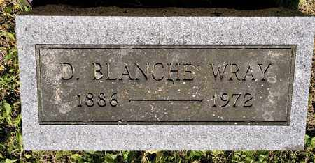 WRAY, D BLANCHE - Richland County, Ohio | D BLANCHE WRAY - Ohio Gravestone Photos