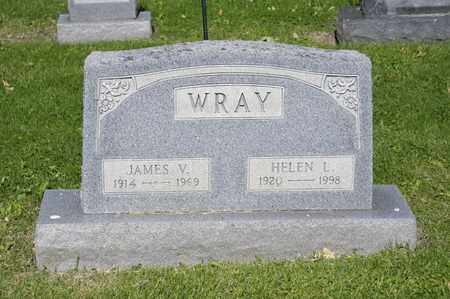 WRAY, JAMES V - Richland County, Ohio | JAMES V WRAY - Ohio Gravestone Photos