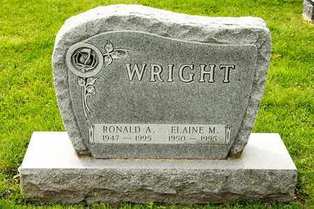 WRIGHT, ELAINE M - Richland County, Ohio | ELAINE M WRIGHT - Ohio Gravestone Photos