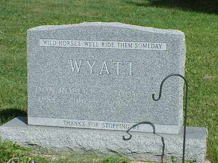 WYATT, DON ROBERT - Richland County, Ohio | DON ROBERT WYATT - Ohio Gravestone Photos