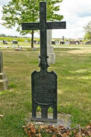 YAEGER, JACOB - Richland County, Ohio | JACOB YAEGER - Ohio Gravestone Photos
