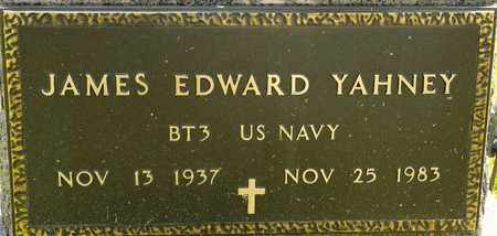 YAHNEY, JAMES EDWARD - Richland County, Ohio | JAMES EDWARD YAHNEY - Ohio Gravestone Photos