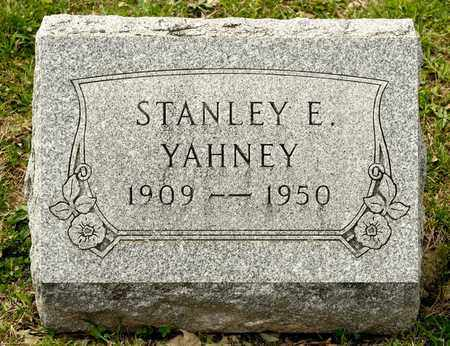 YAHNEY, STANLEY E - Richland County, Ohio | STANLEY E YAHNEY - Ohio Gravestone Photos