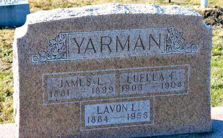 YARMAN, LAVON L - Richland County, Ohio | LAVON L YARMAN - Ohio Gravestone Photos