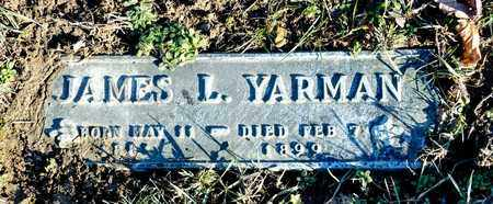 YARMAN, JAMES L - Richland County, Ohio | JAMES L YARMAN - Ohio Gravestone Photos