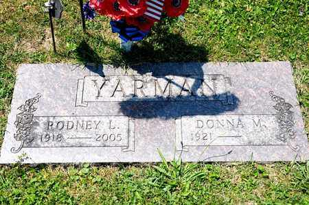 YARMAN, RODNEY L - Richland County, Ohio | RODNEY L YARMAN - Ohio Gravestone Photos