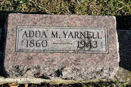 YARNELL, ADDA M - Richland County, Ohio | ADDA M YARNELL - Ohio Gravestone Photos
