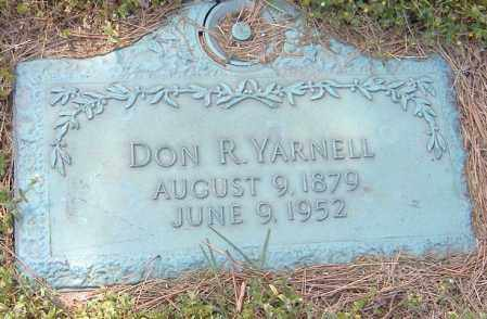 YARNELL, DON R. - Richland County, Ohio | DON R. YARNELL - Ohio Gravestone Photos