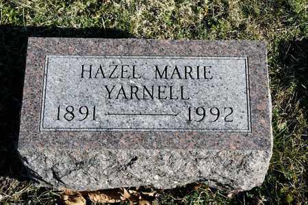 YARNELL, HAZEL MARIE - Richland County, Ohio   HAZEL MARIE YARNELL - Ohio Gravestone Photos