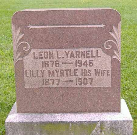 YARNELL, LEON LYLE - Richland County, Ohio | LEON LYLE YARNELL - Ohio Gravestone Photos