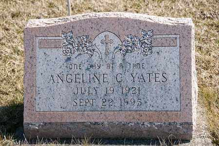 YATES, ANGELINE C - Richland County, Ohio | ANGELINE C YATES - Ohio Gravestone Photos