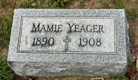 YEAGER, MAMIE - Richland County, Ohio | MAMIE YEAGER - Ohio Gravestone Photos
