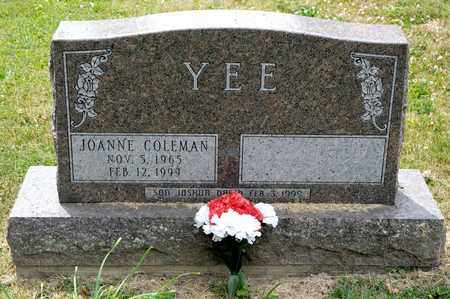 YEE, JOANNE - Richland County, Ohio | JOANNE YEE - Ohio Gravestone Photos