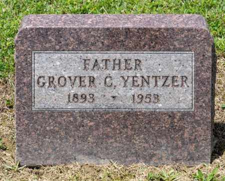 YENTZER, GROVER C - Richland County, Ohio | GROVER C YENTZER - Ohio Gravestone Photos