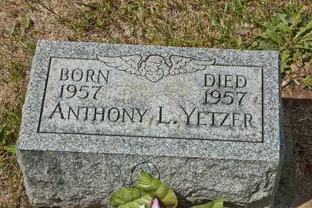 YETZER, ANTHONY L - Richland County, Ohio | ANTHONY L YETZER - Ohio Gravestone Photos