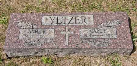 YETZER, CARL F - Richland County, Ohio | CARL F YETZER - Ohio Gravestone Photos