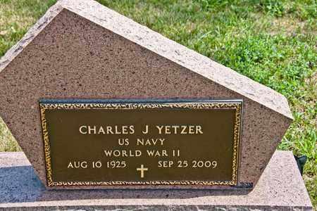 YETZER, CHARLES J - Richland County, Ohio | CHARLES J YETZER - Ohio Gravestone Photos