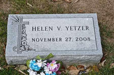 YETZER, HELEN V - Richland County, Ohio | HELEN V YETZER - Ohio Gravestone Photos