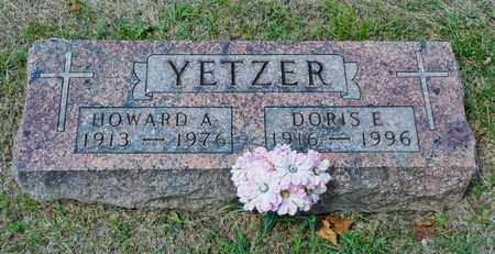 YETZER, HOWARD A - Richland County, Ohio | HOWARD A YETZER - Ohio Gravestone Photos