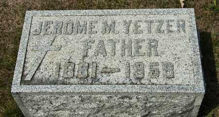 YETZER, JEROME M - Richland County, Ohio | JEROME M YETZER - Ohio Gravestone Photos