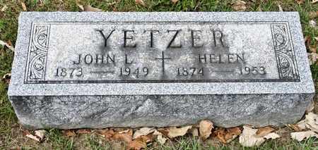 YETZER, HELEN - Richland County, Ohio | HELEN YETZER - Ohio Gravestone Photos