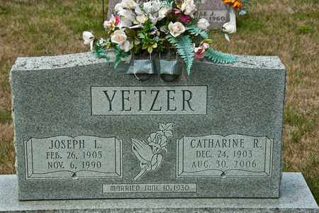 YETZER, CATHARINE R - Richland County, Ohio | CATHARINE R YETZER - Ohio Gravestone Photos
