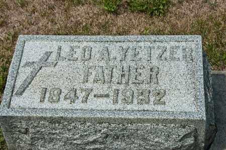 YETZER, LEO A - Richland County, Ohio | LEO A YETZER - Ohio Gravestone Photos