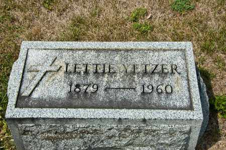 YETZER, LETTIE - Richland County, Ohio | LETTIE YETZER - Ohio Gravestone Photos