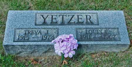 YETZER, LOUIS E - Richland County, Ohio | LOUIS E YETZER - Ohio Gravestone Photos