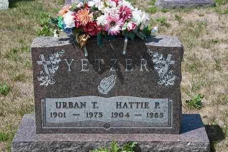 YETZER, HATTIE P - Richland County, Ohio | HATTIE P YETZER - Ohio Gravestone Photos