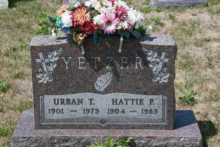 YETZER, URBAN T - Richland County, Ohio   URBAN T YETZER - Ohio Gravestone Photos