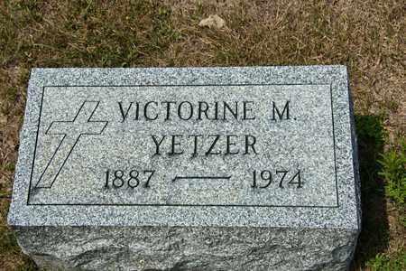 YETZER, VICTORINE M - Richland County, Ohio | VICTORINE M YETZER - Ohio Gravestone Photos