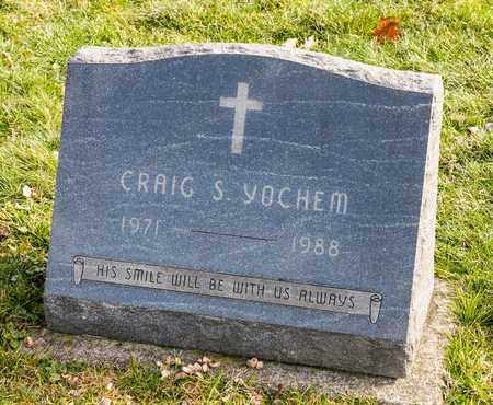 YOCHEM, CRAIG S - Richland County, Ohio | CRAIG S YOCHEM - Ohio Gravestone Photos