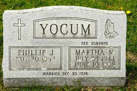 OSBORNE YOCUM, MARTHA M - Richland County, Ohio | MARTHA M OSBORNE YOCUM - Ohio Gravestone Photos